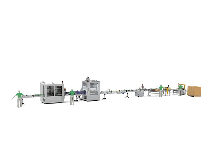 1L-5L Automatic Liquid Filling Line