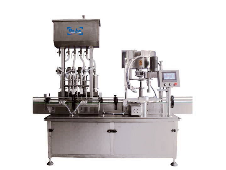 BGX-4-1D Automatic Filling and Capping Machine