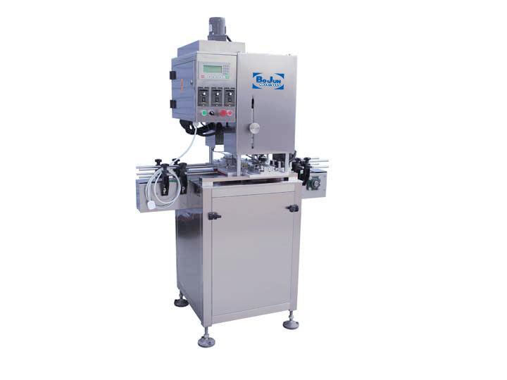 BX-4C Semi-automatic 4 wheel Capping Machine