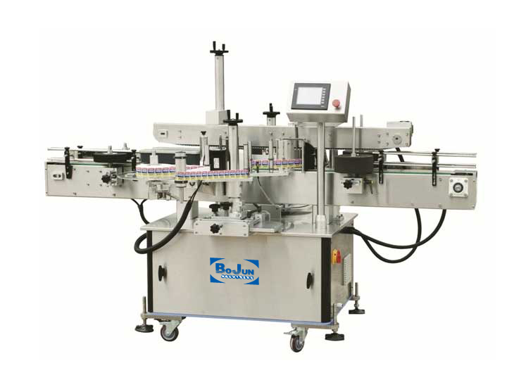 BTS-150D Adhesive Front and Back Labeling Machine